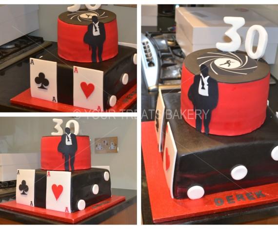 007 Bond Cake