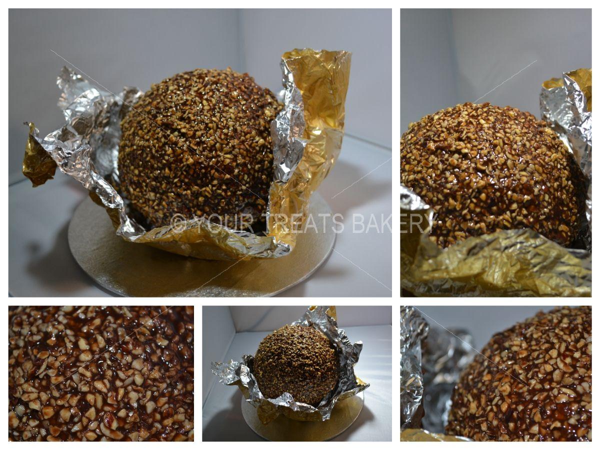 Ferrero Rocher Birthday Cake London