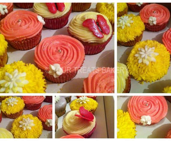 Floral Cuppies Cupcake