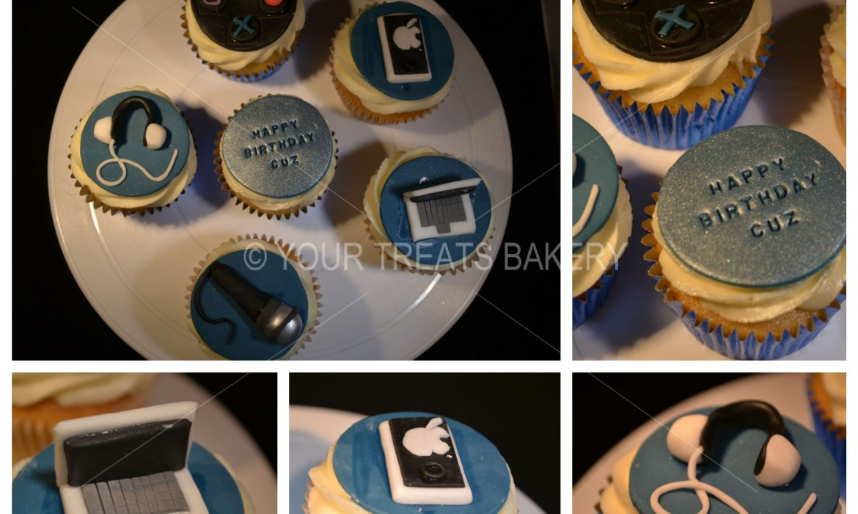 Gadgets Cupcake