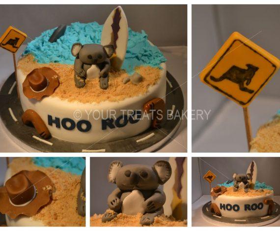 Hoo Roo Cake