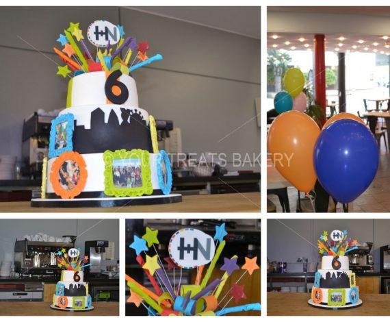 Hope Church History Cake