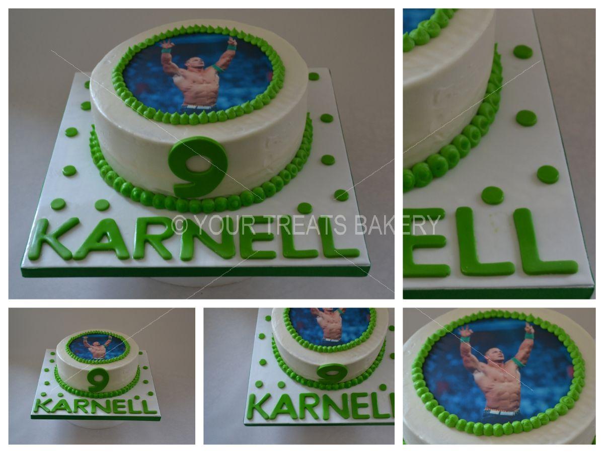 John Cena Cake Your Treats Bakery