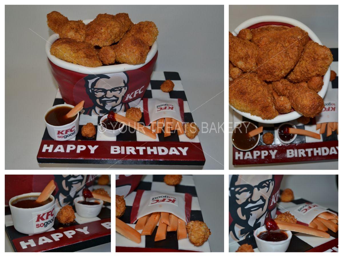 Kfc Bucket Sides Cake Your Treats Bakery