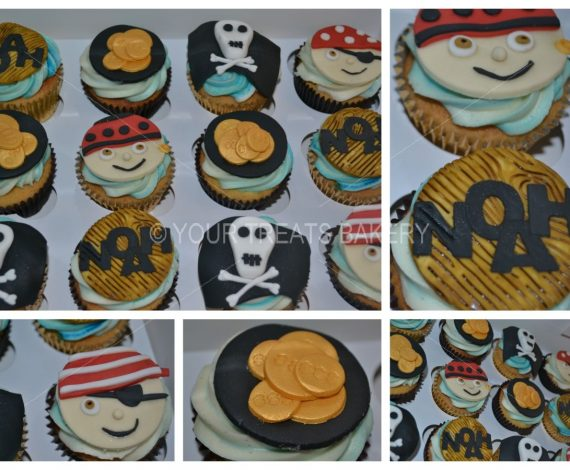 Pirates on Deck Cupcakes
