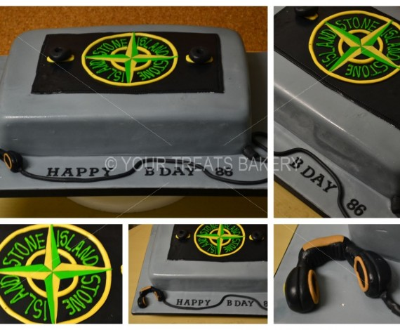Stone Island Cake