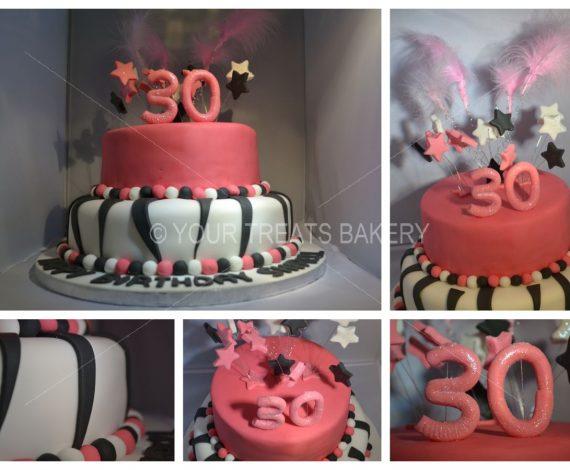 ZebraZill Cake