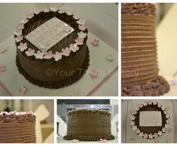 Buttercream Delight Chocolate Cake