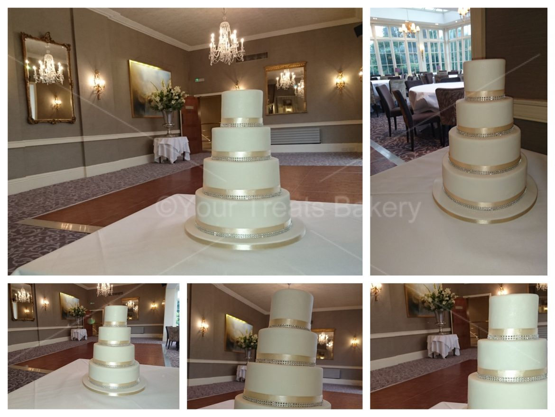 Suttle Glamour Wedding Cake