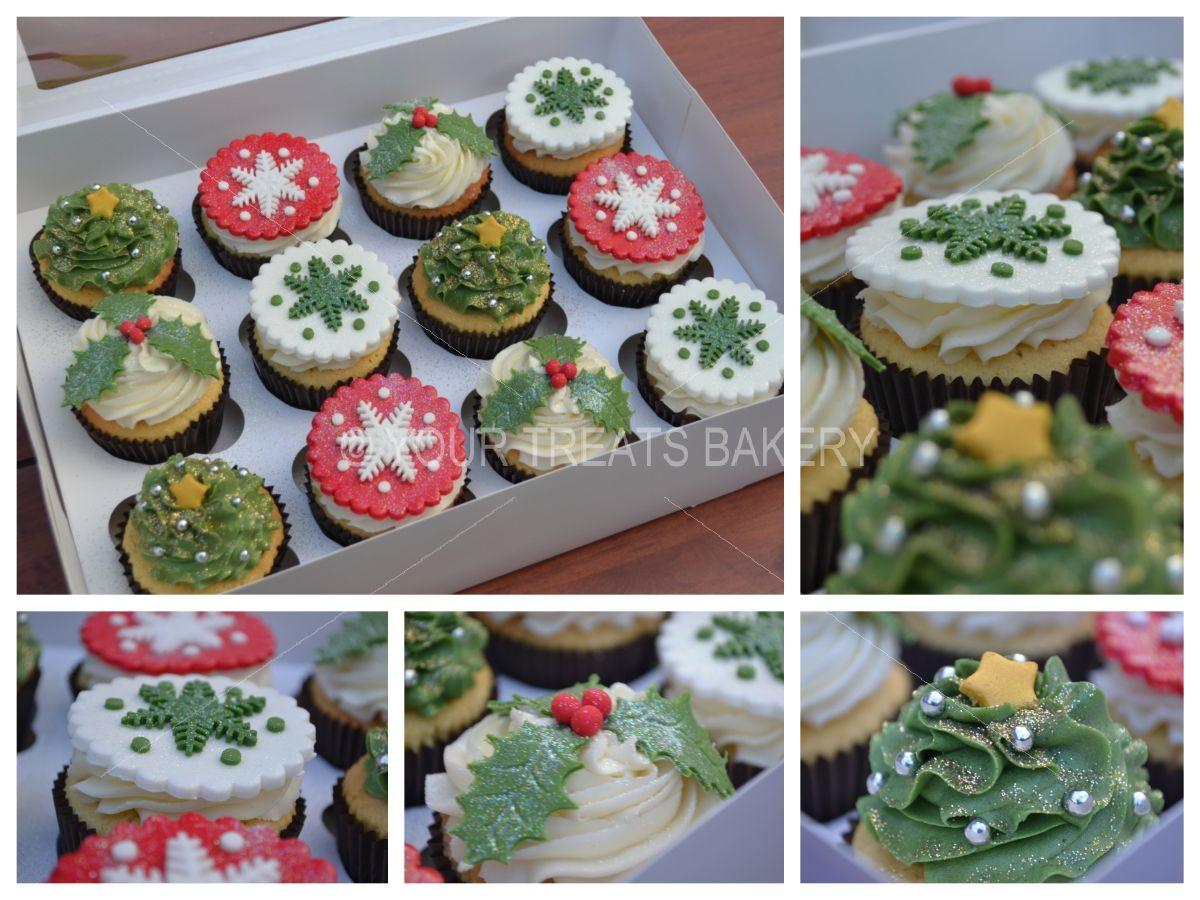 Christmas Cupcakes Your Treats Bakery