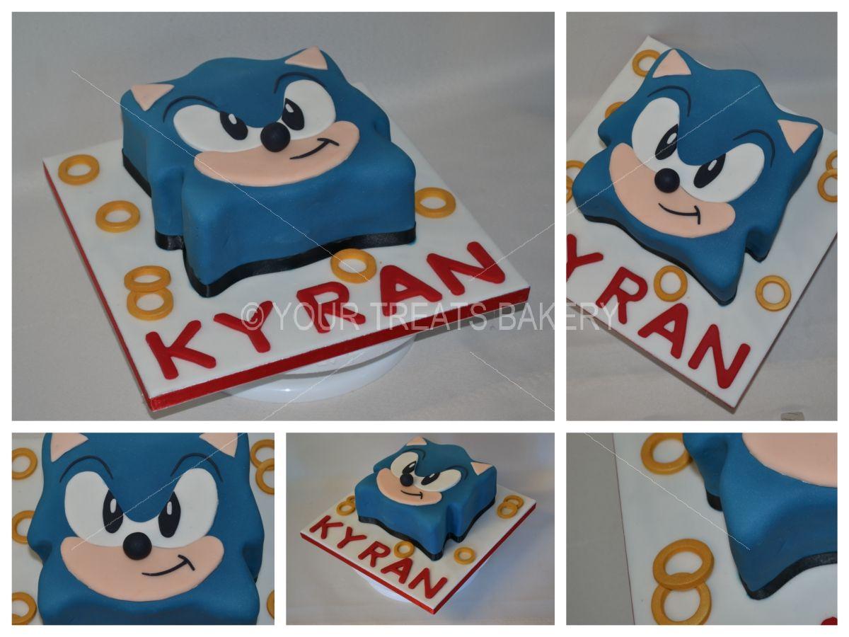 Sonic The Hedgehog Cake Your Treats Bakery