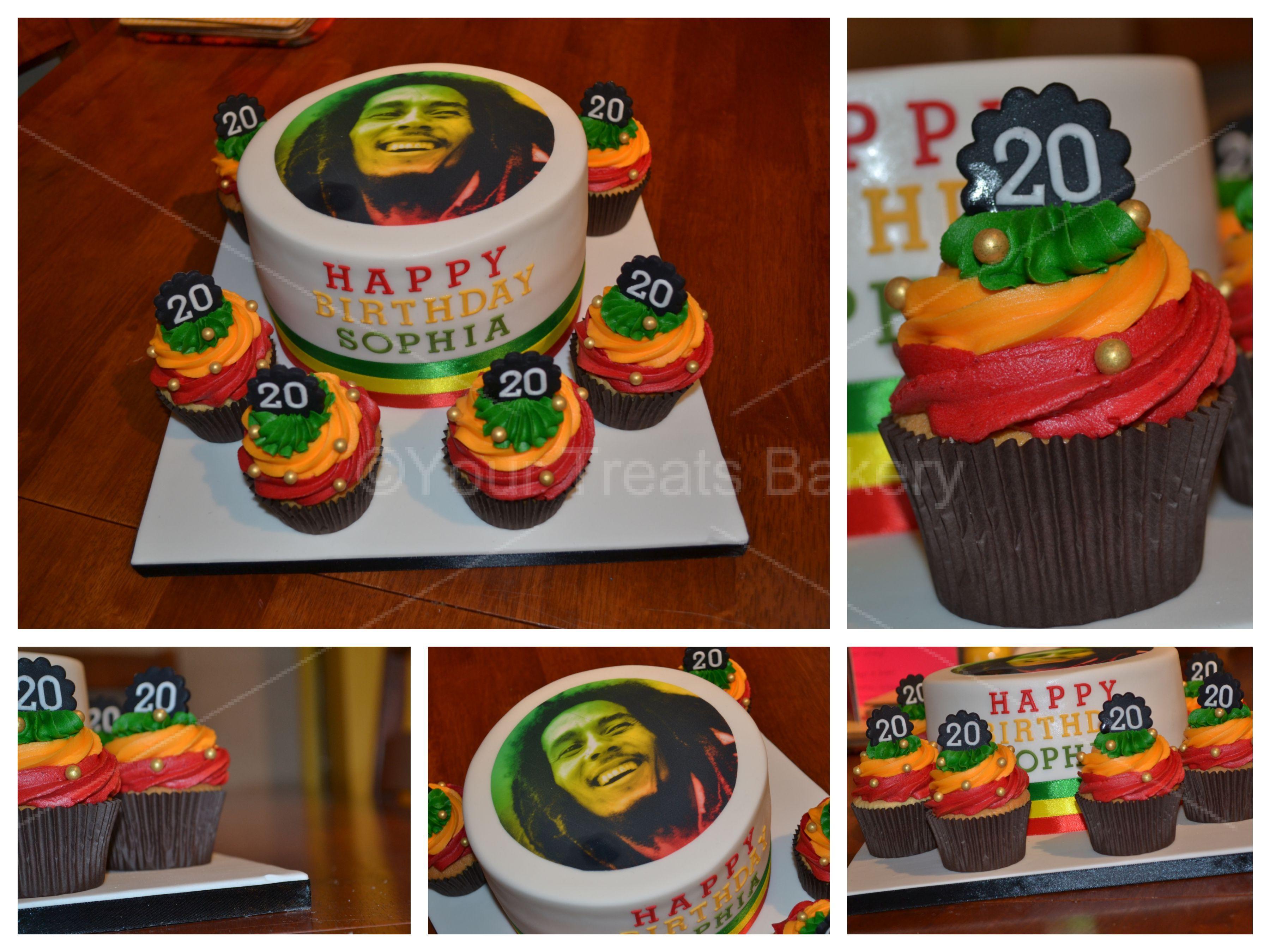 Phenomenal Bob Marley Cake Your Treats Bakery Funny Birthday Cards Online Elaedamsfinfo